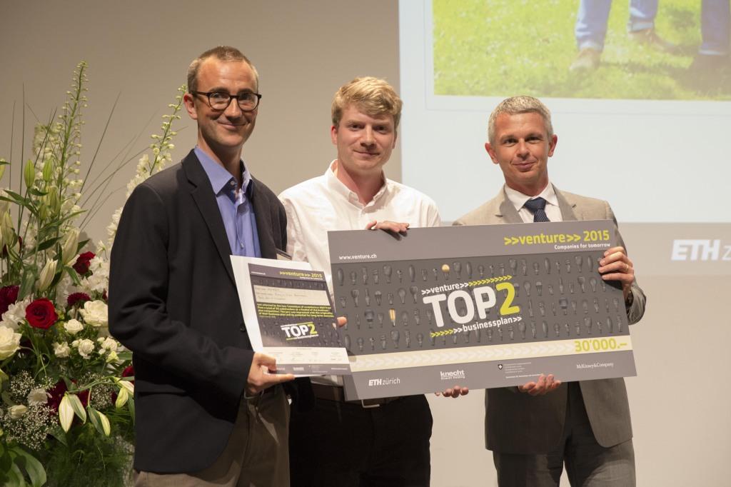 Award Ceremony von Venture an der ETH Zürich am 15.06.2015