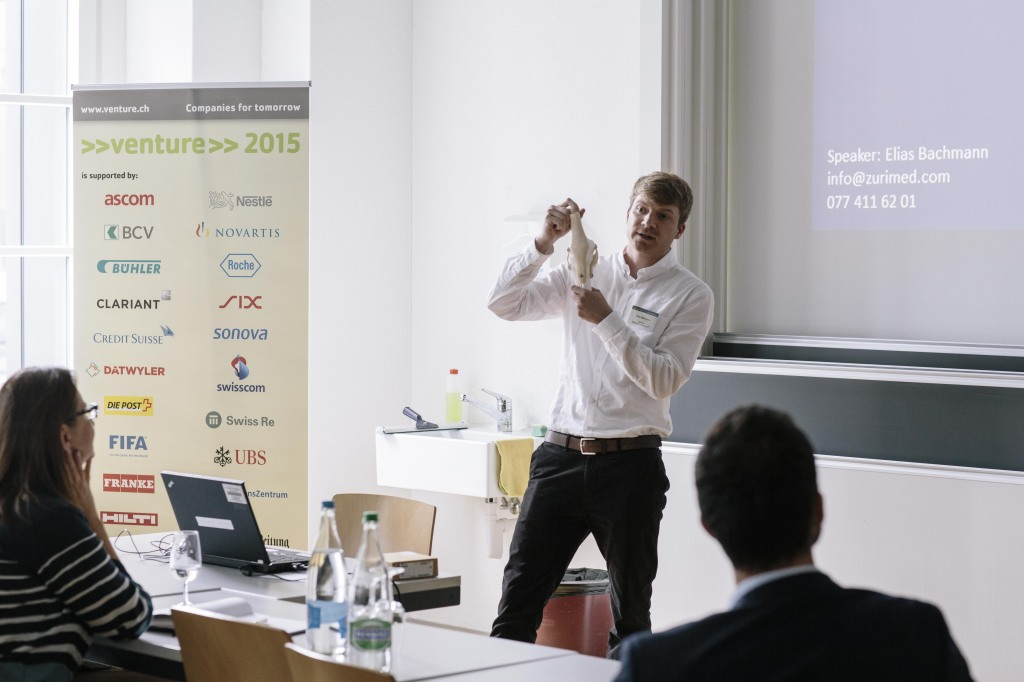 Elias Bachmann presenting at INVESTOR DAY 2015